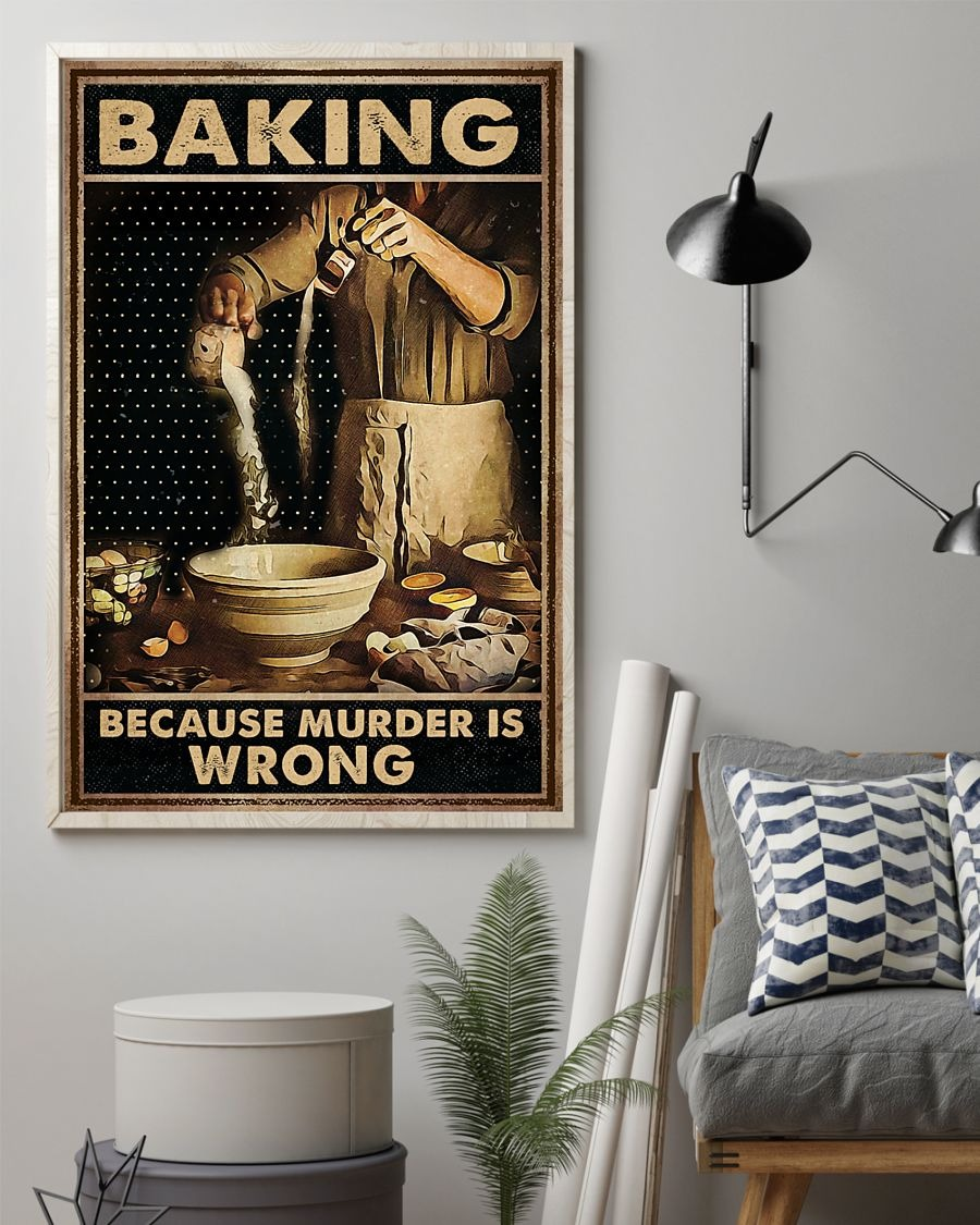 Baking Because Murder Is Wrong Poster1