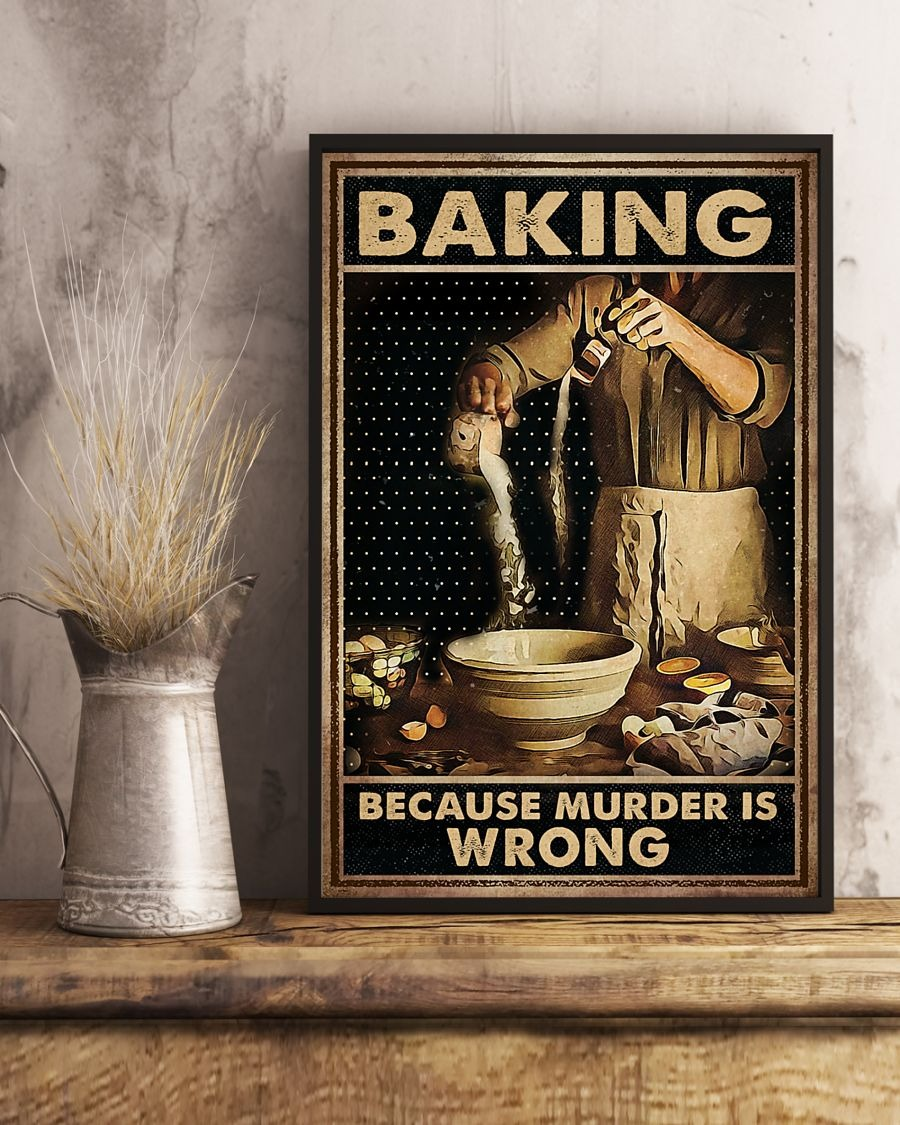 Baking Because Murder Is Wrong Poster2