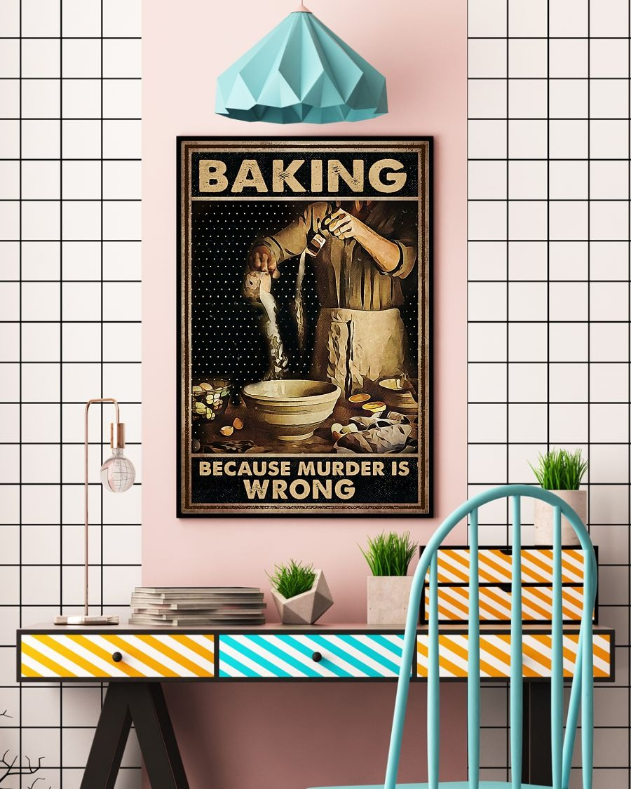 Baking Because Murder Is Wrong Poster3