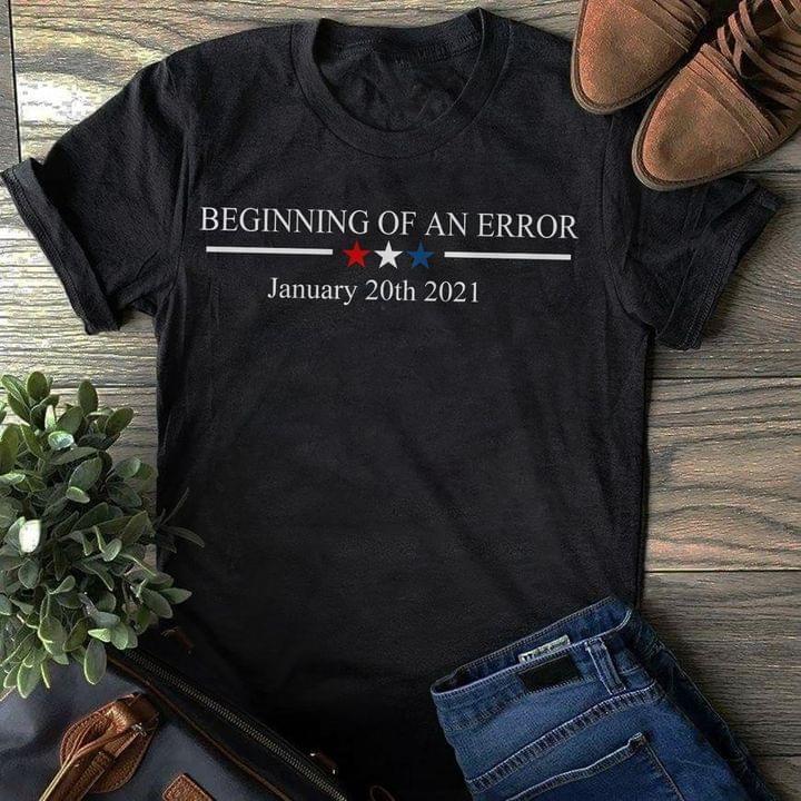 Beginning of an Error January 20th 2021 ava