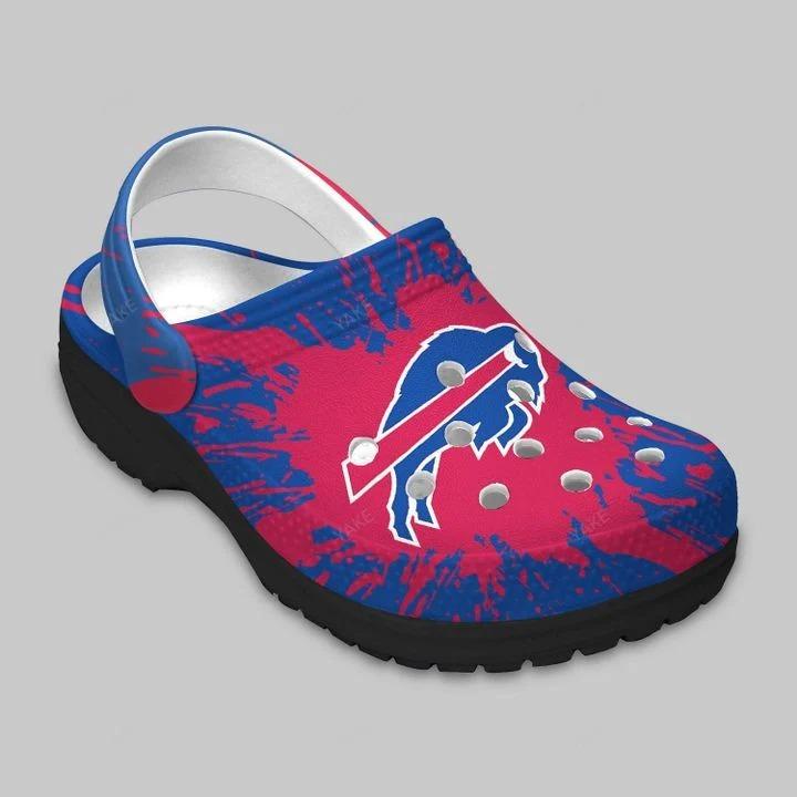 Buffalo Bills Crocs Crocband Clog 3