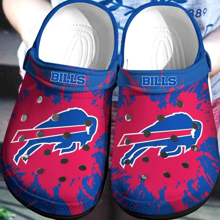 Buffalo Bills Crocs Crocband Clog