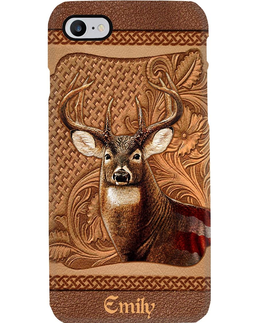 Dear Leather Pattern Phone Case 7