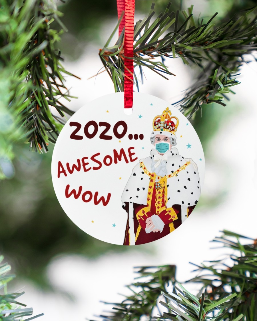 Hamilton King George 2020 Awesome Wow Ornament1