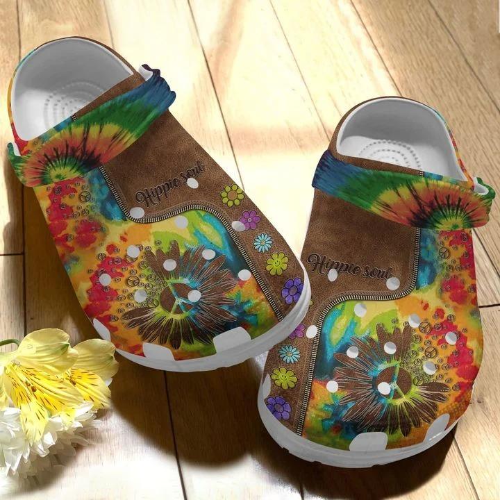 Hippie Soul Crocs Crocband Clog1