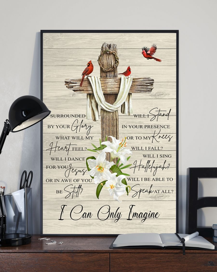 I Can Only Imagine Jesus Poster1