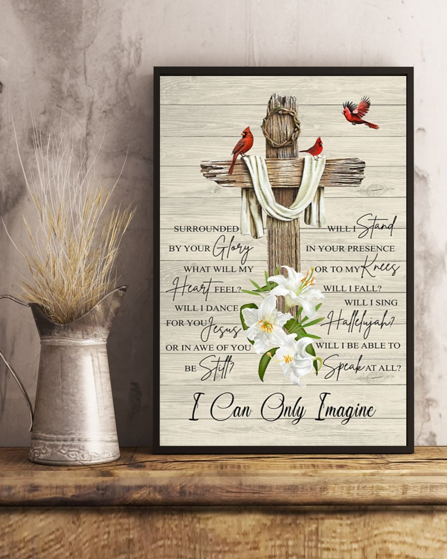 I Can Only Imagine Jesus Poster2