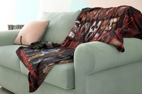 Personalized Horror Movie Watching Blanket 2