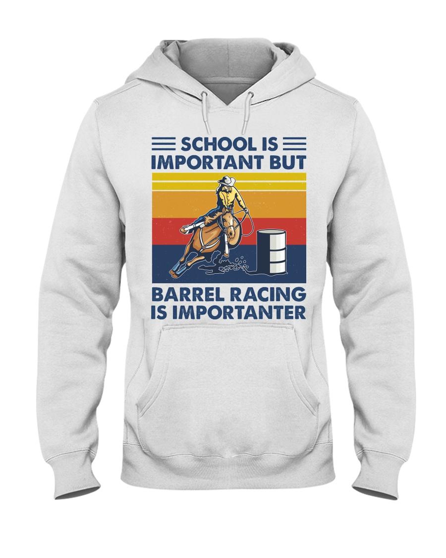 School Is Important But Barrel Racing Is Importanter hoodie