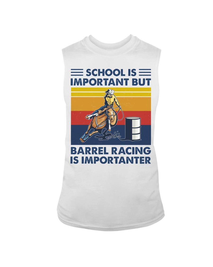 School Is Important But Barrel Racing Is Importanter tank top