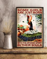 Some Girl Are Just Born With The Spanish Spirit In Their Souls Poster 1