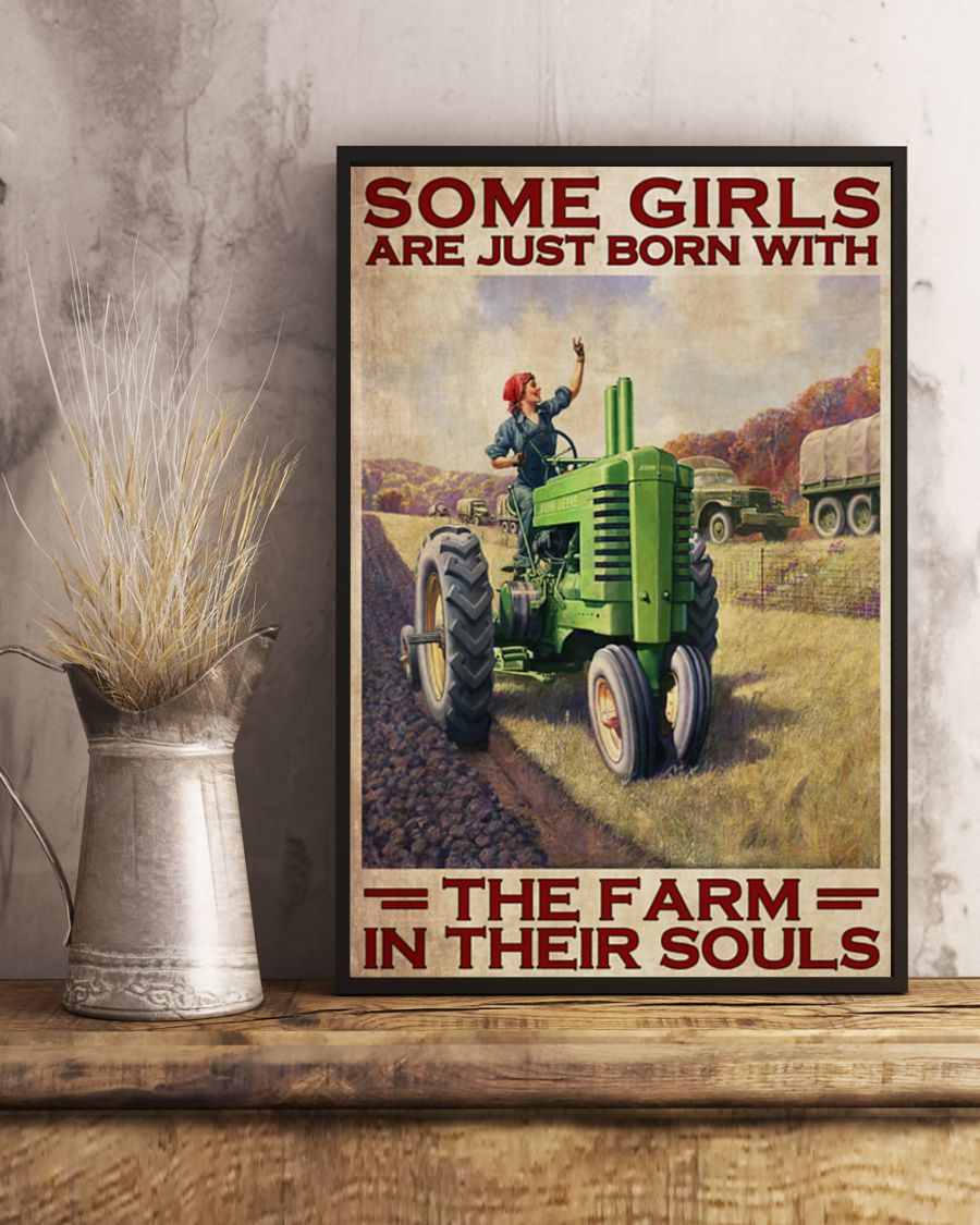 Some girls are just born with the farm in their souls poster4