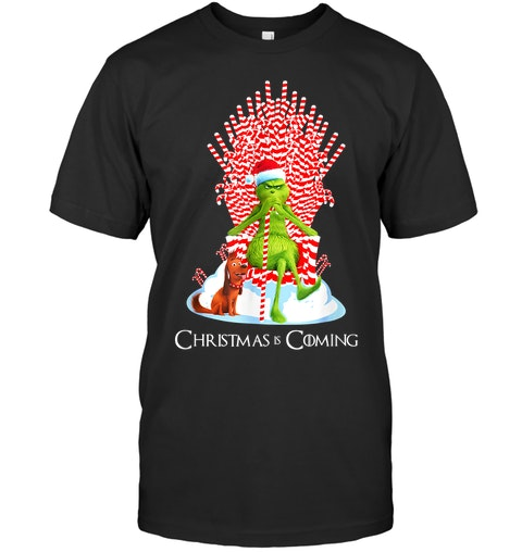 The Grinch Christmas is coming shirt