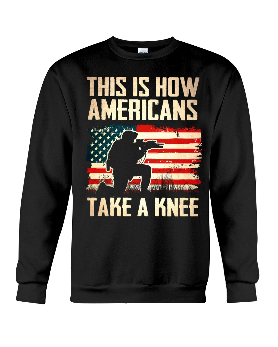 This is how Americans take a knee sweatshit