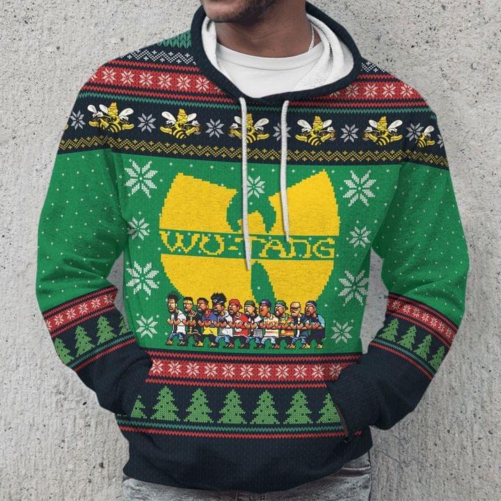 Wu-Tang Clan Christmas Hoodie