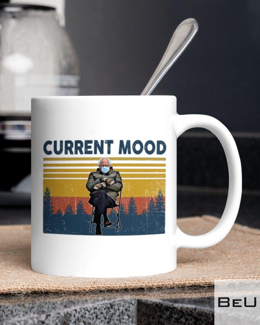 Bernie Sanders Current Mood Vintage Mug2