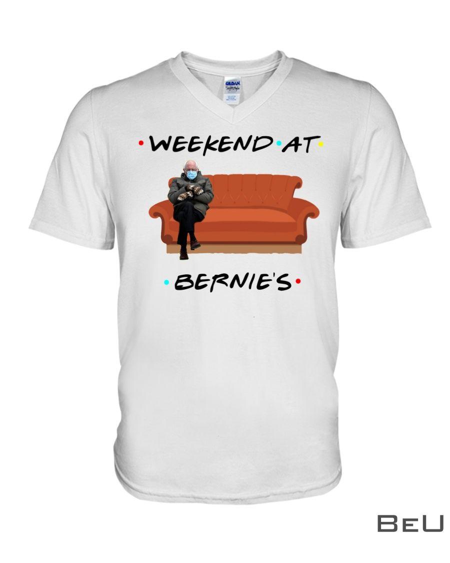 Bernie Sanders Meme Weekend at Bernie's shirt4