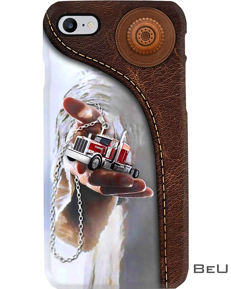 Jesus give me your hand - Truck phone case