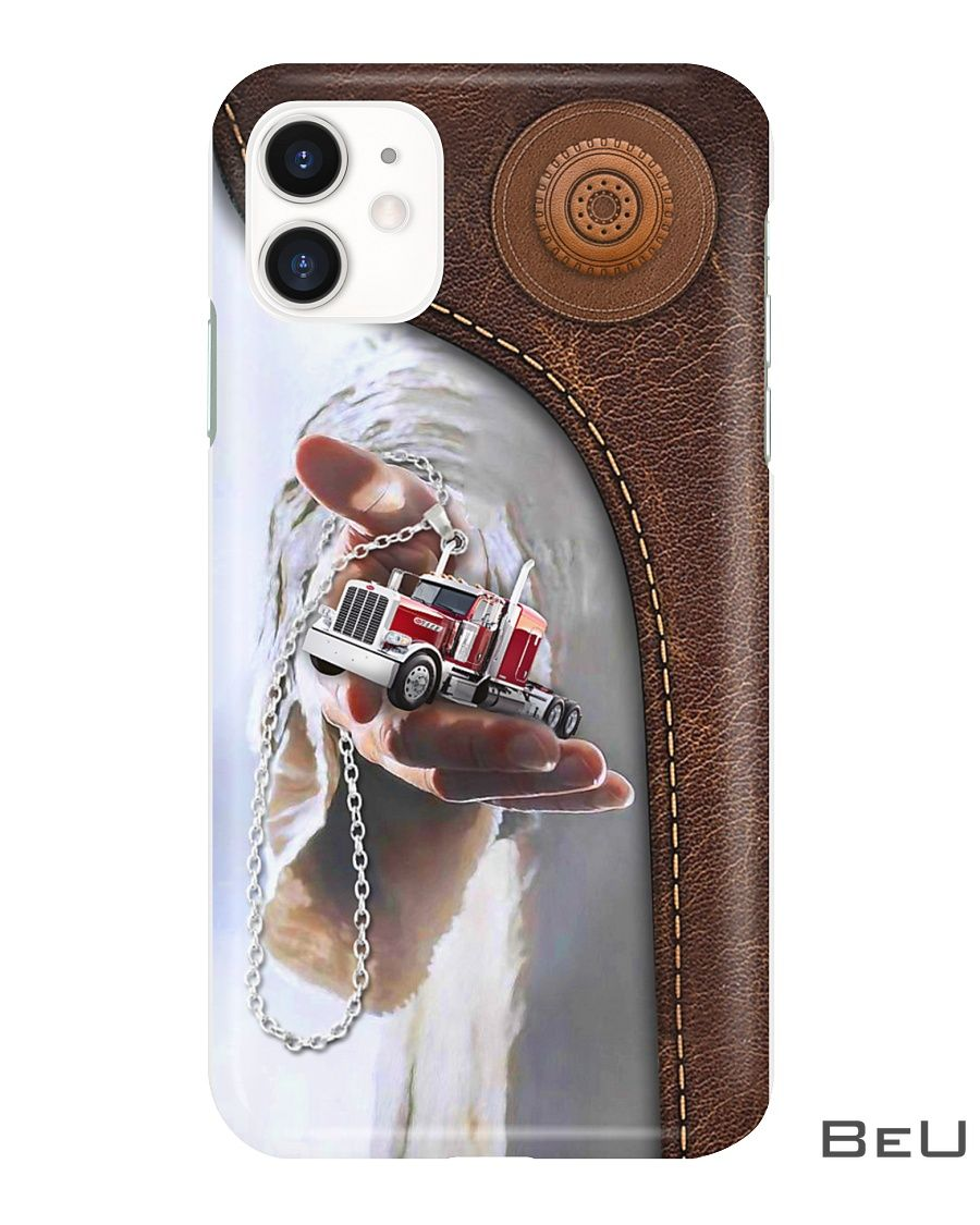Jesus give me your hand - Truck phone case2
