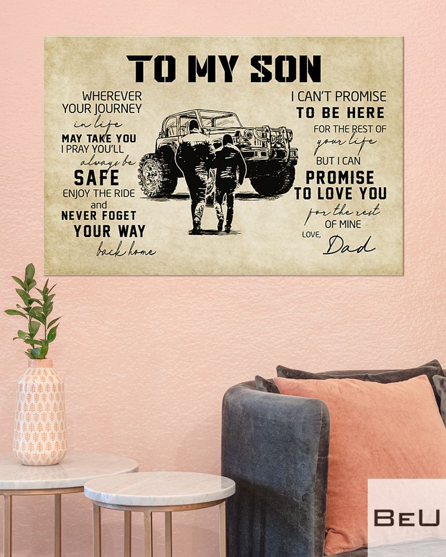 Off-road Vehicle To my son wherever your journey in life may take you poster3