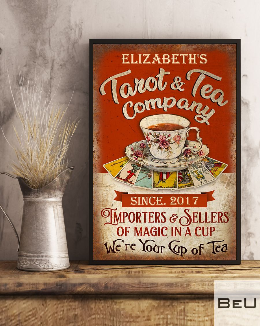 Personalized Tarot & Tea Company Importers & Sellers Of Magic In A Cup Poster2