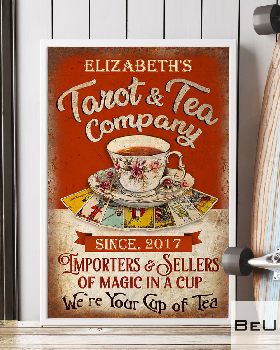 Personalized Tarot & Tea Company Importers & Sellers Of Magic In A Cup Poster3