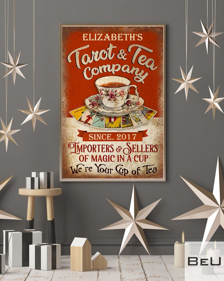 Personalized Tarot & Tea Company Importers & Sellers Of Magic In A Cup Poster4