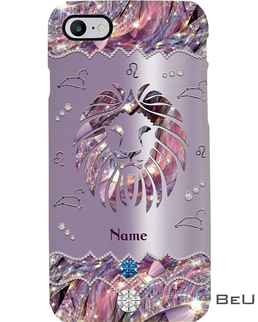 Personalized Tiger Leo Phone Case