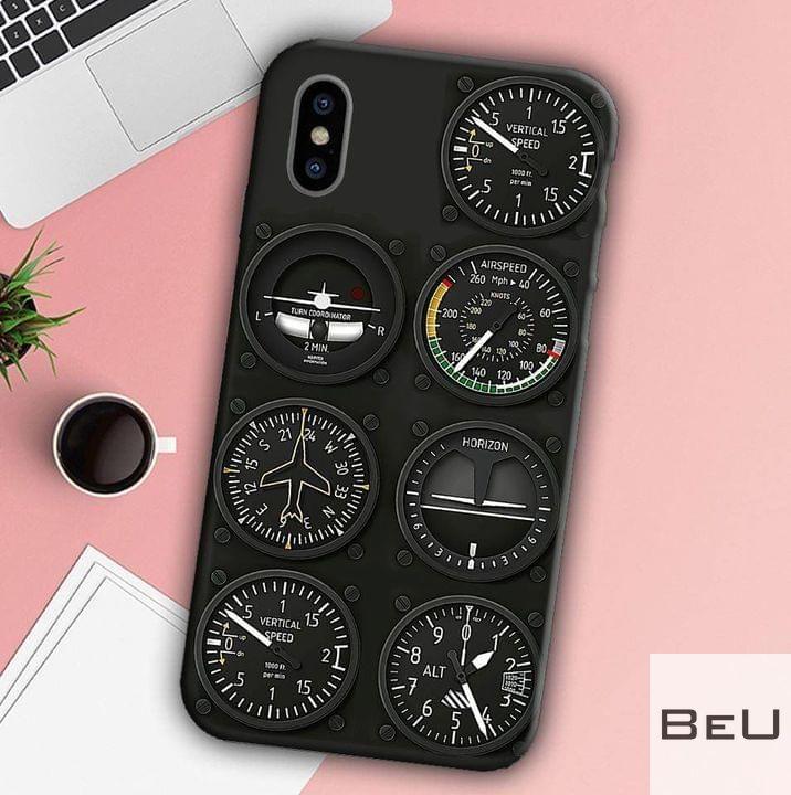 Pilot Six Flight Instruments Phone Case2