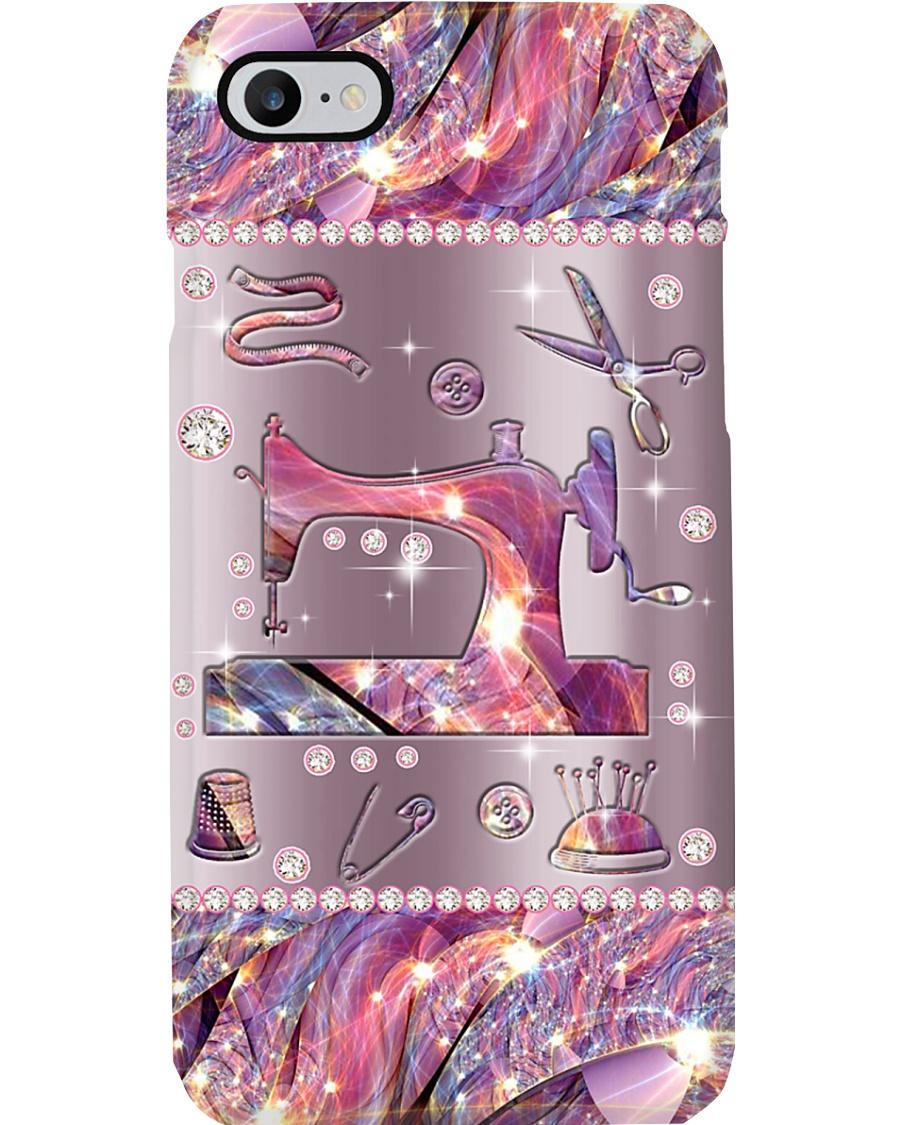 Sewing Metal Pattern Phone Case