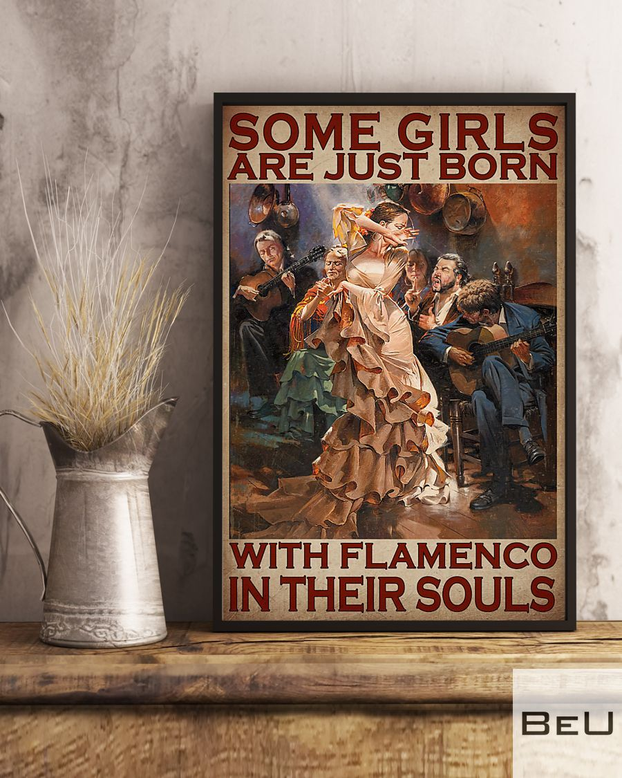 Some girls are just born with flamenco in their souls poster3