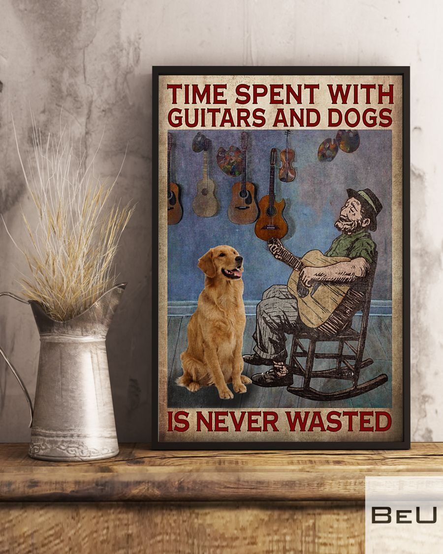 Time spent with guitars and dogs is never wasted poster3