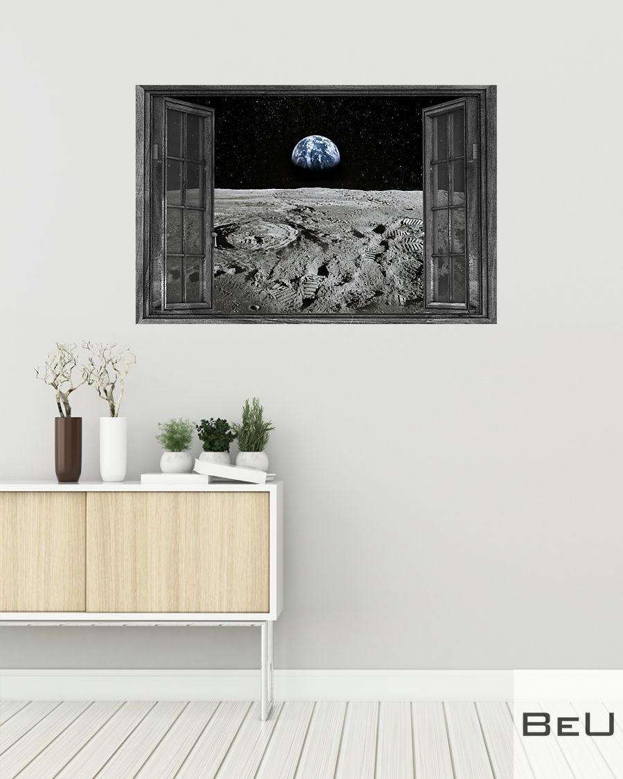 Earth through the window poster2