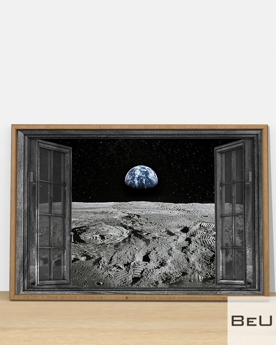Earth through the window poster3