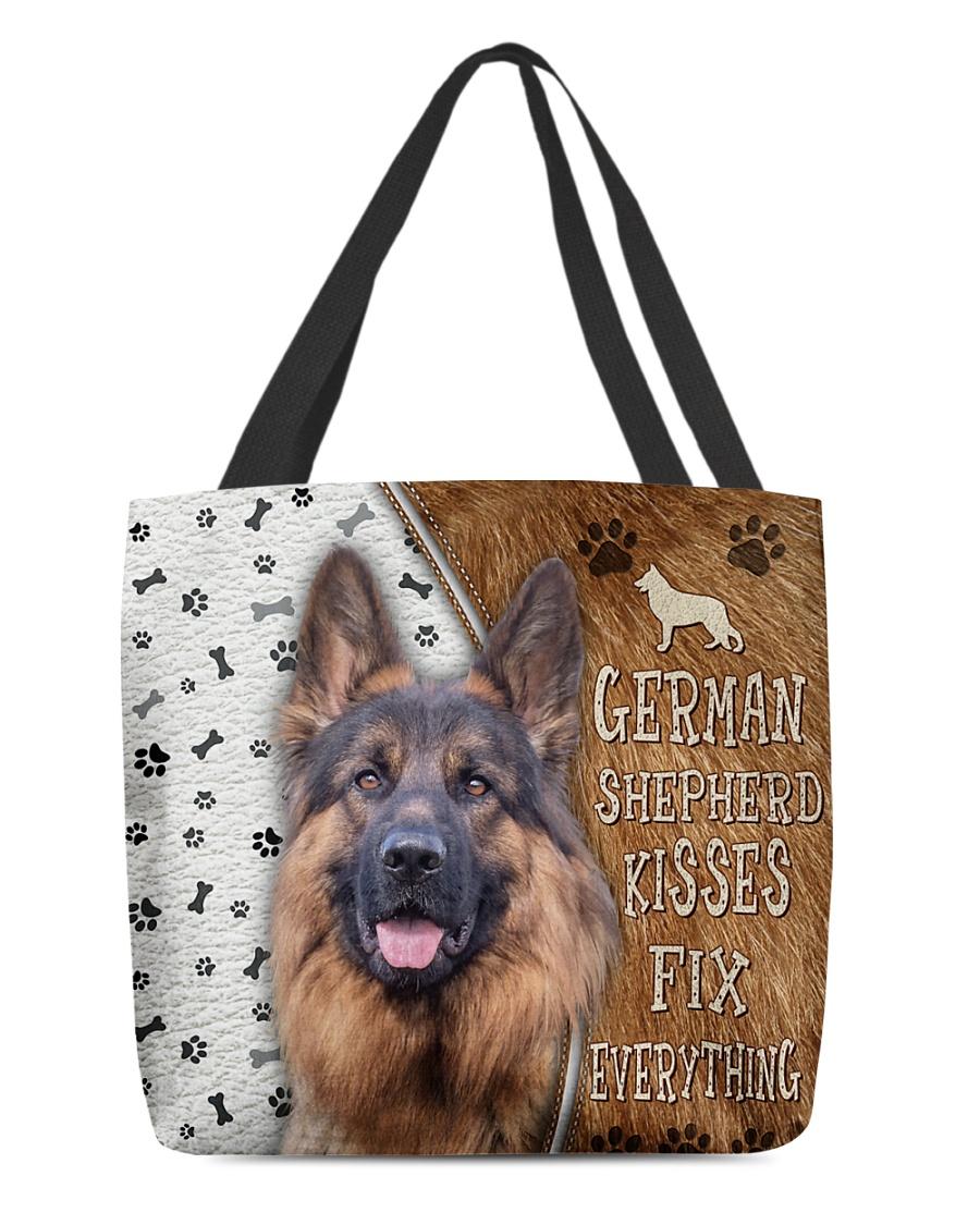 German Shepherd Kisses Fix Everything Tote Bag