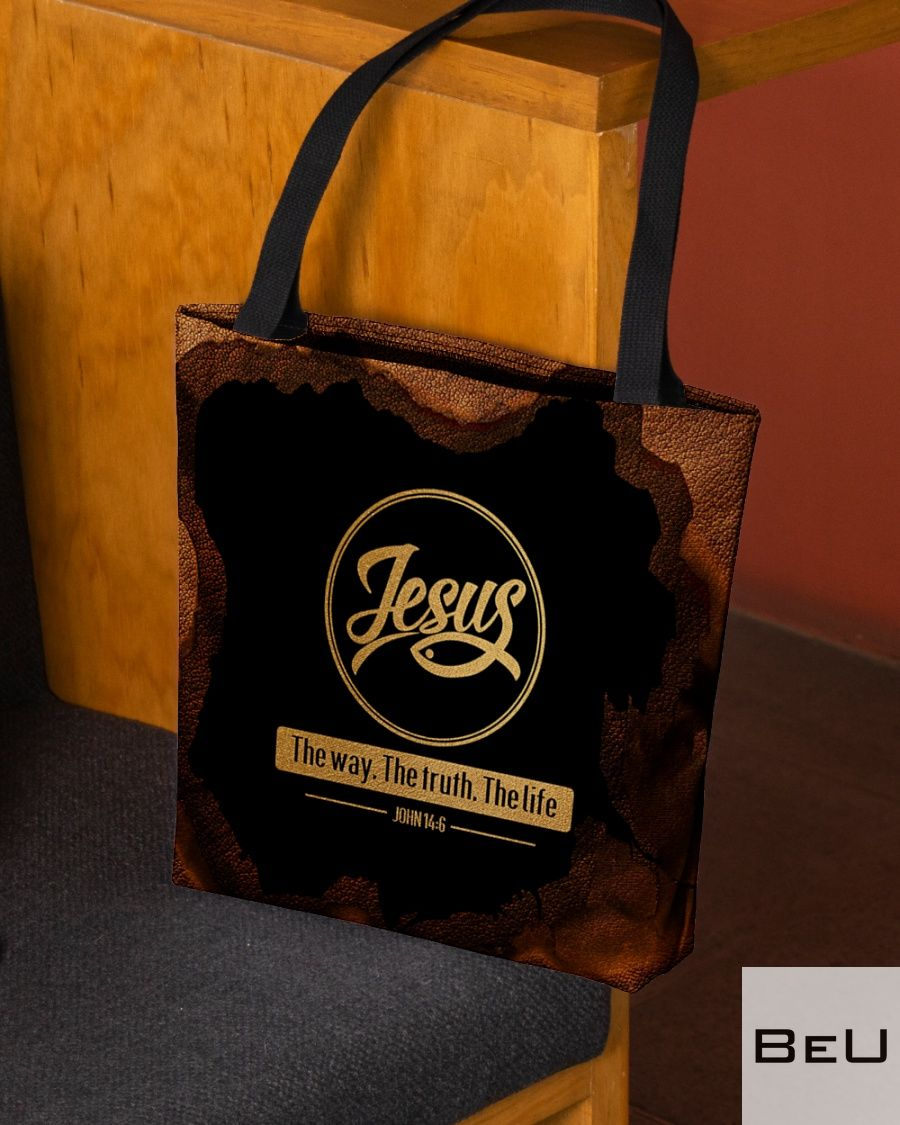 Jesus The Way - The Truth - The Life All tote bagx