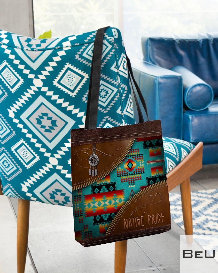 Native Pride Pattern Tote Bag2