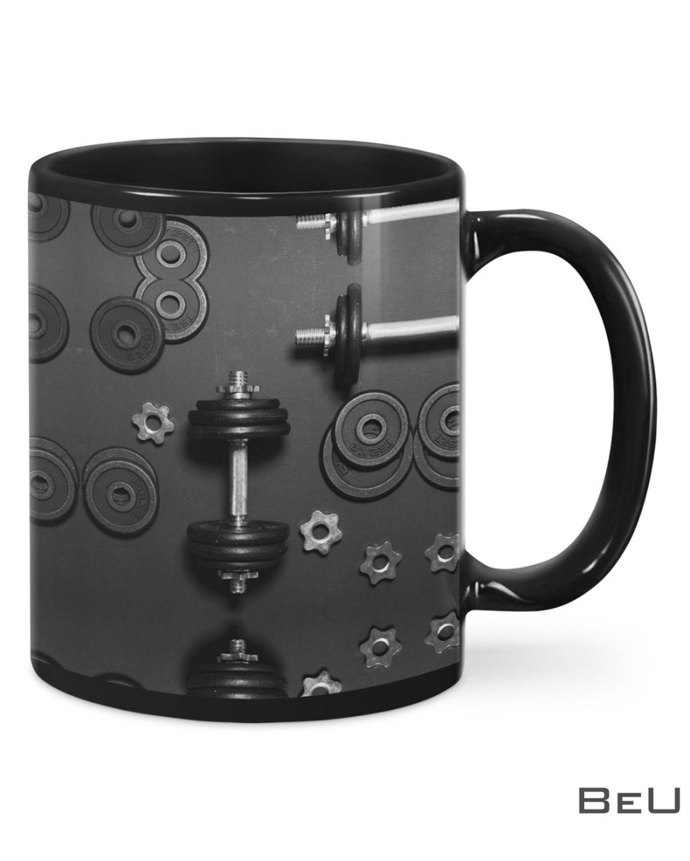 Fitness Dumbbells Mug