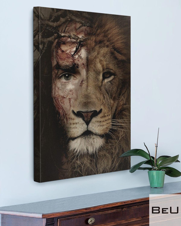 Jesus Lion Eyes Canvasz