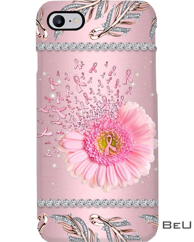Pink Daisy Flower Phone Case