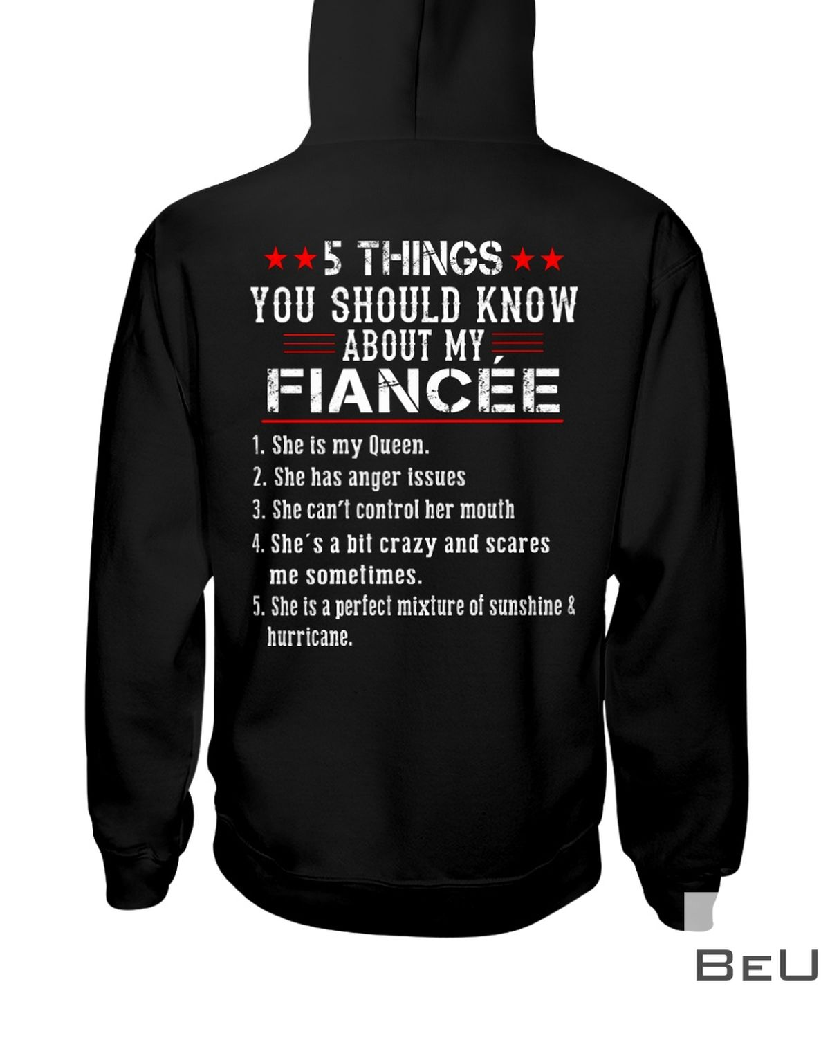 5 Thing You Should Know About My Fiancée Shirtz