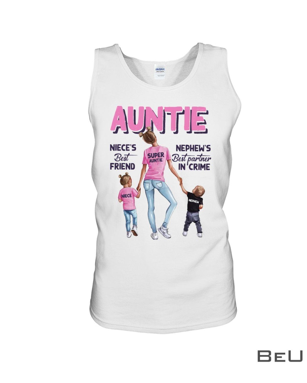 Auntie Niece'S Best Friend Shirtc