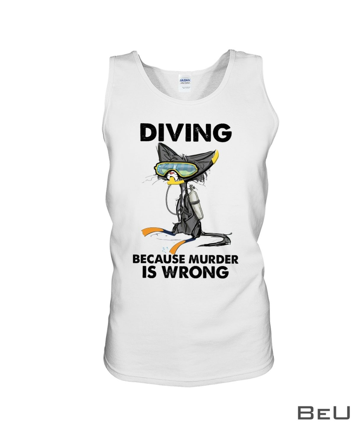 Diving Because Murder Is Wrong Shirtc
