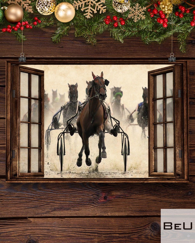 Harness Racing Window Posterc