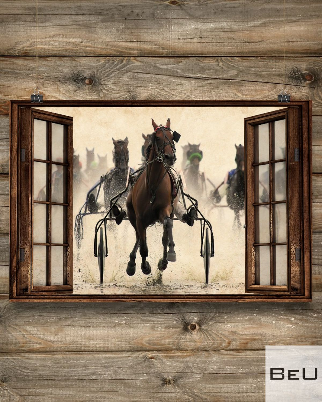 Harness Racing Window Posterx