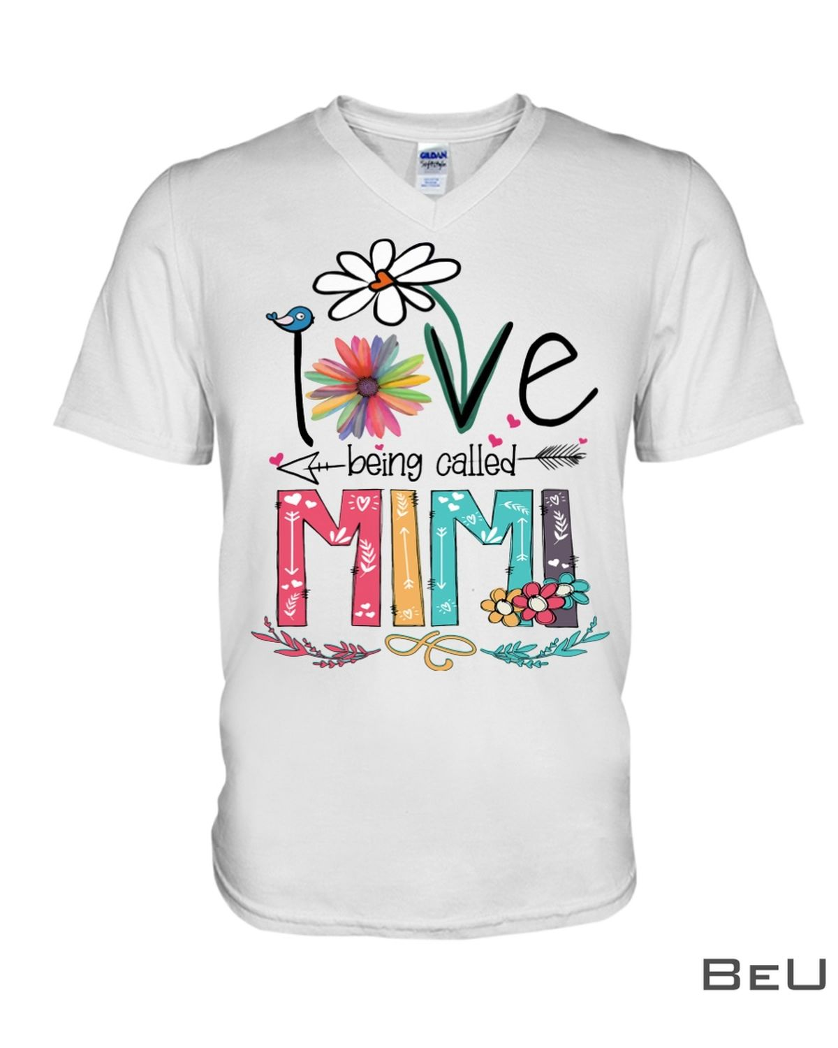 I Love Being Called Mimi Shirt x