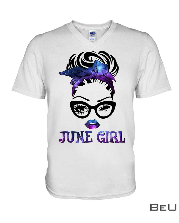June Girl Galaxy Shirt c