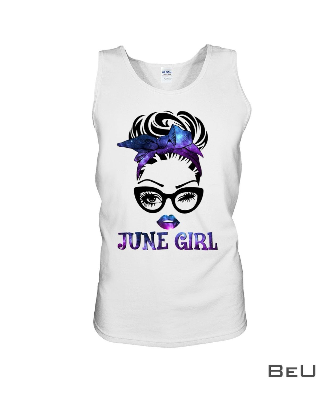 June Girl Galaxy Shirt x