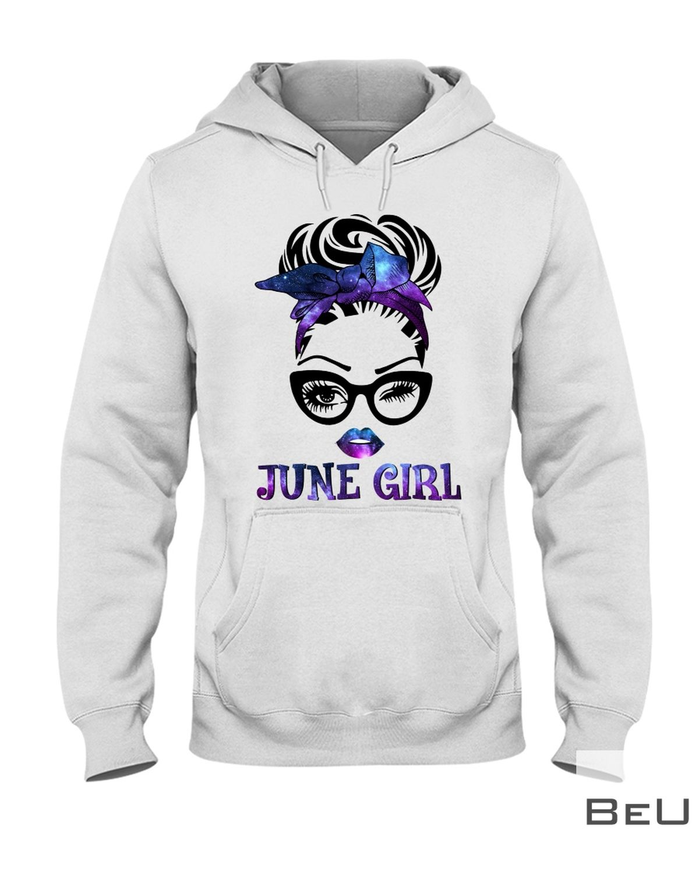 June Girl Galaxy Shirt z