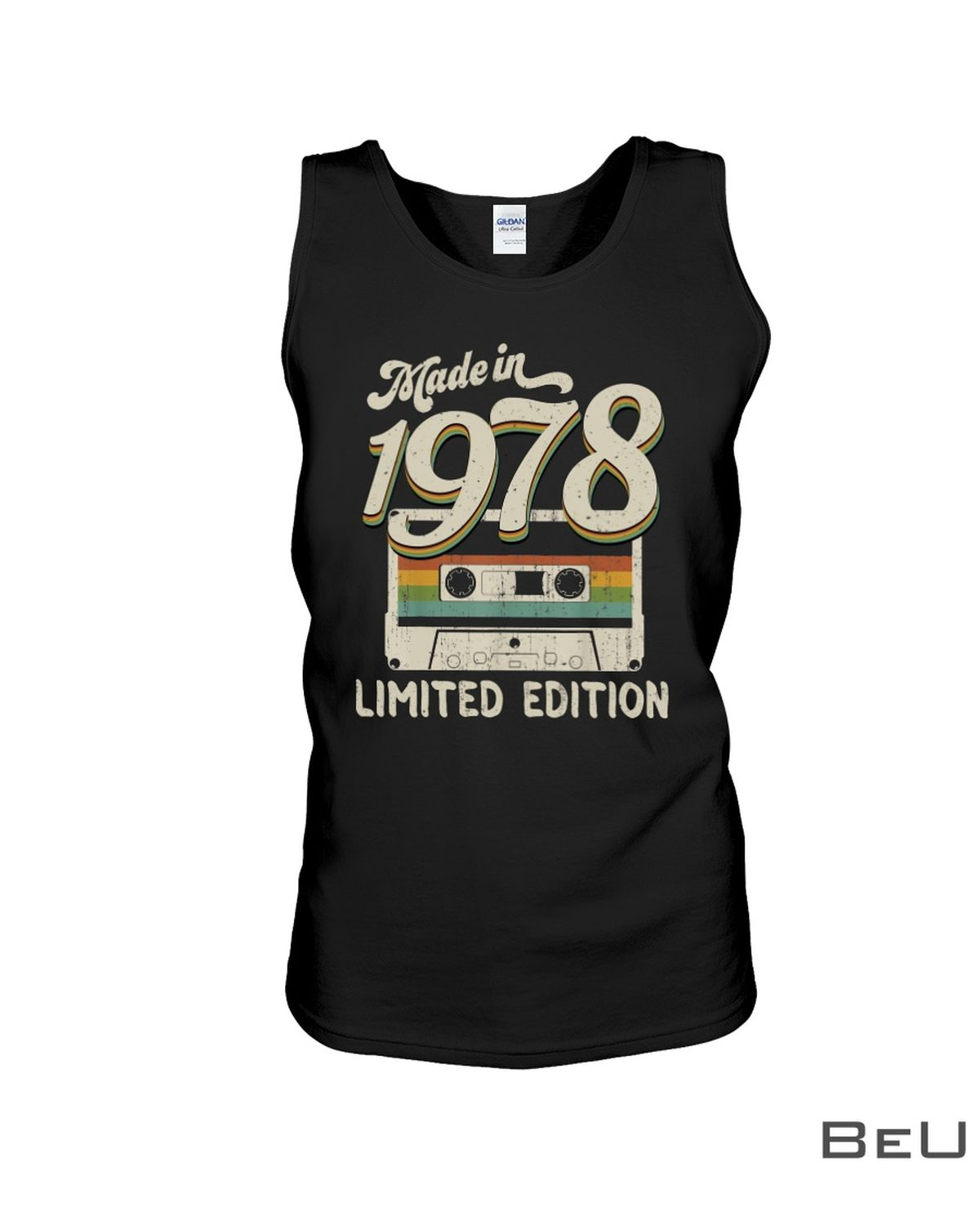 Made In 1978 Limited Edition Cassette Shirtc